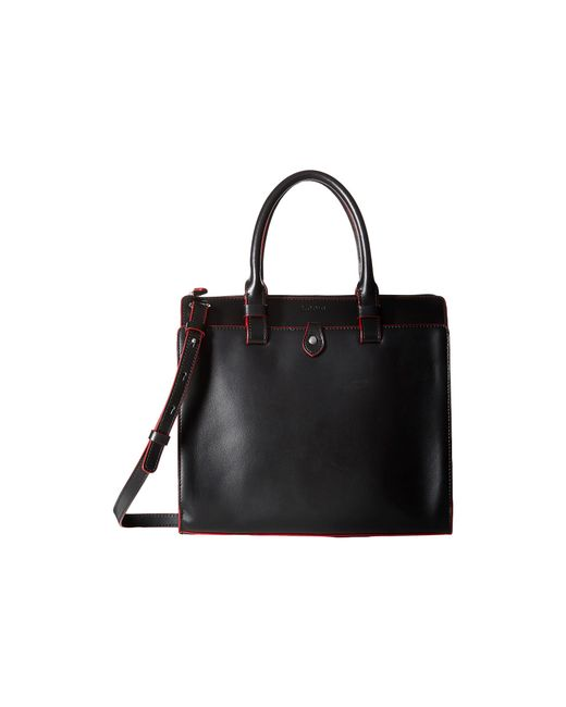 Lodis | Black Audrey Linda Medium Satchel | Lyst