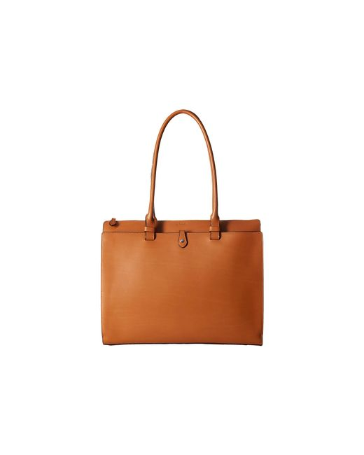 Lodis | Brown Audrey Jessica Work Satchel | Lyst
