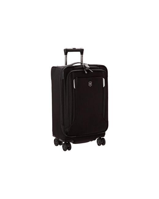 "Victorinox | Black Werks Traveler 5.0 - Wt 22"" Dual Caster Expandable 8-wheel U.s. Carry-on | Lyst"