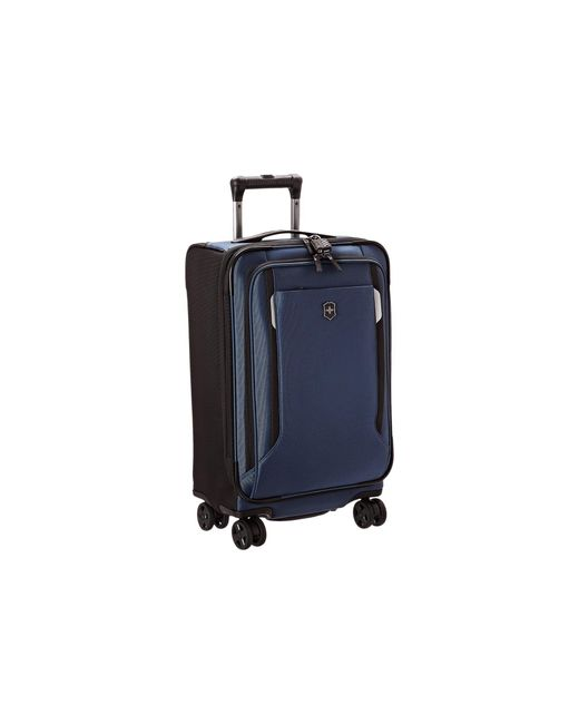 "Victorinox   Blue Werks Traveler 5.0 - Wt 22"" Dual Caster Expandable 8-wheel U.s. Carry-on   Lyst"
