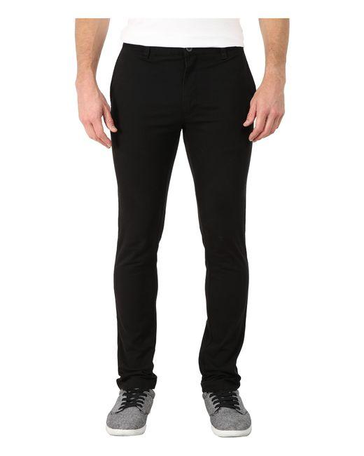 RVCA | Black Stapler Twill Pants for Men | Lyst
