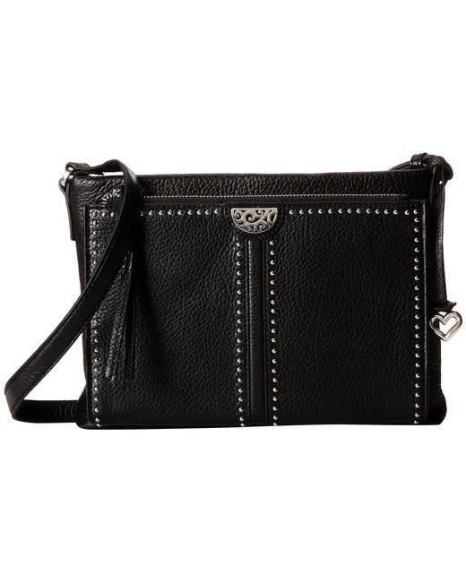 Brighton | Black Jagger Cross Bag Organizer | Lyst