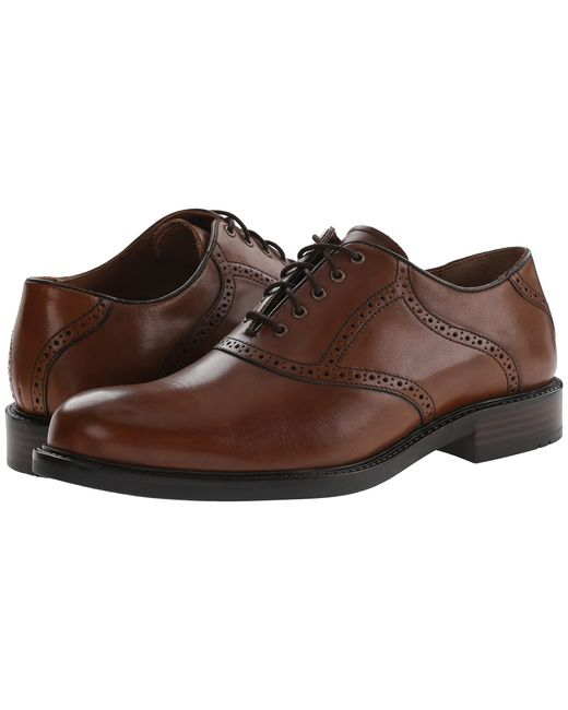 Johnston & Murphy | Brown Tabor Saddle for Men | Lyst