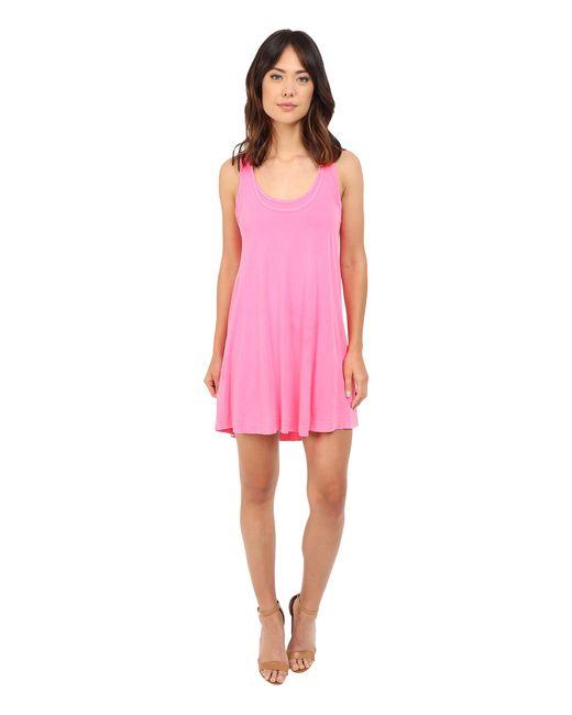 Splendid | Pink Vintage Whisper Dress | Lyst