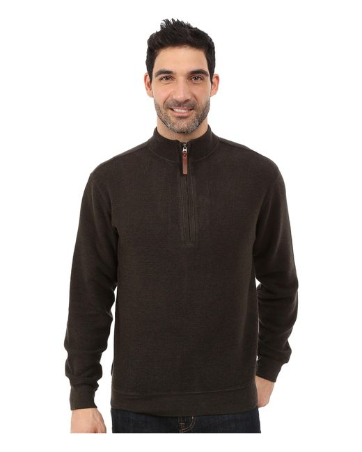 Woolrich | Brown Bromley Half Zip for Men | Lyst