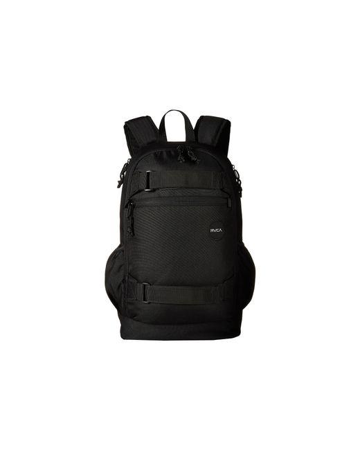 RVCA | Black Push Skate Backpack for Men | Lyst