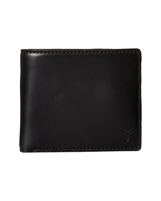 Frye | Black David Double Billfold for Men | Lyst