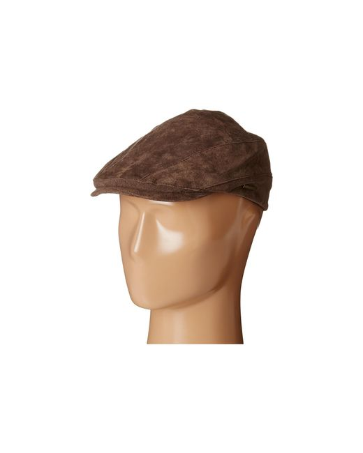 Stetson | Brown Suede Ivy Cap for Men | Lyst
