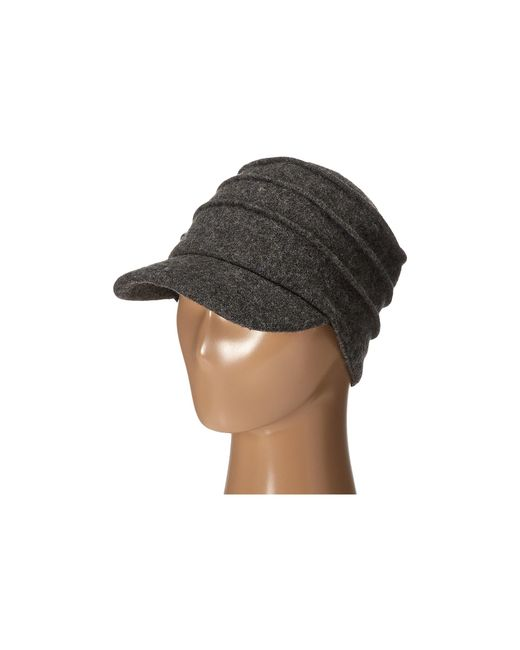 San Diego Hat Company | Gray Sdh0518 Wool Cadet With Right Side Flower | Lyst