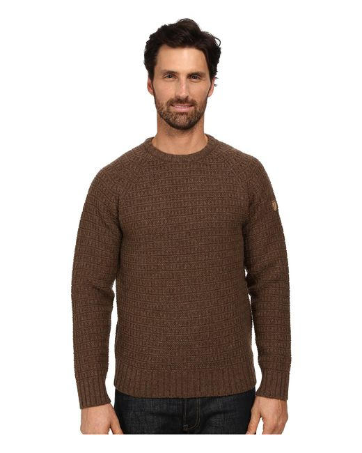 Fjallraven | Brown Sörmland Roundneck Sweater for Men | Lyst