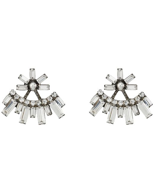 DANNIJO | Metallic Casper Earrings | Lyst