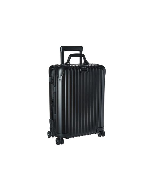 rimowa topas stealth cabin multiwheel 52 rhd in black for men lyst. Black Bedroom Furniture Sets. Home Design Ideas