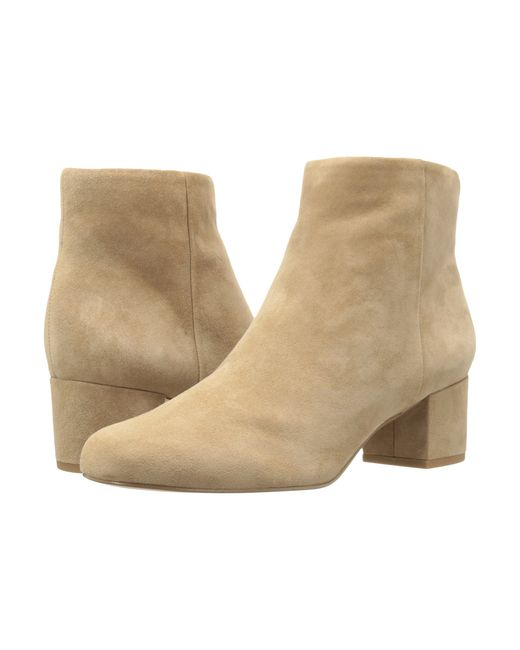 Sam Edelman | Natural Edith Suede Ankle Boots | Lyst