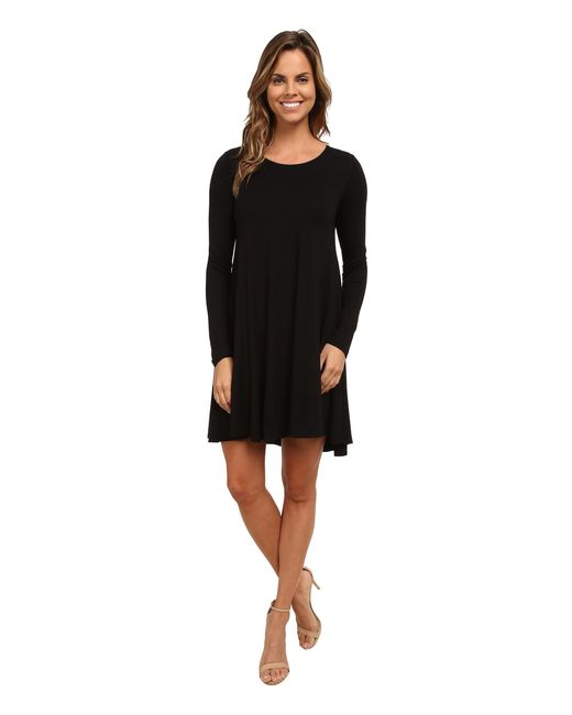 Karen Kane | Black Swing Dress | Lyst