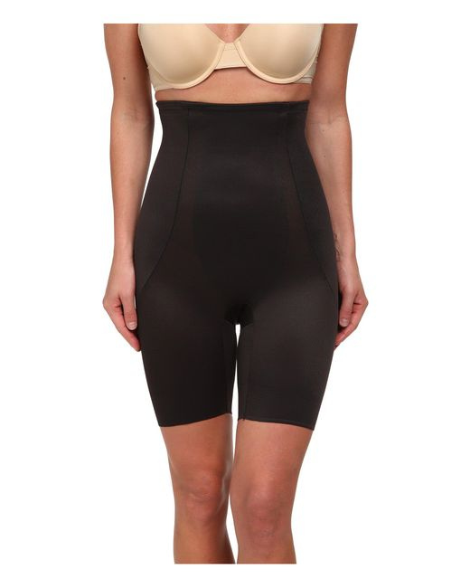 Miraclesuit | Black Back Magic High Waist Thigh Slimmer | Lyst