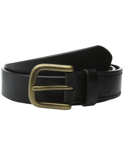 Fossil | Black Saddle Series Belt for Men | Lyst