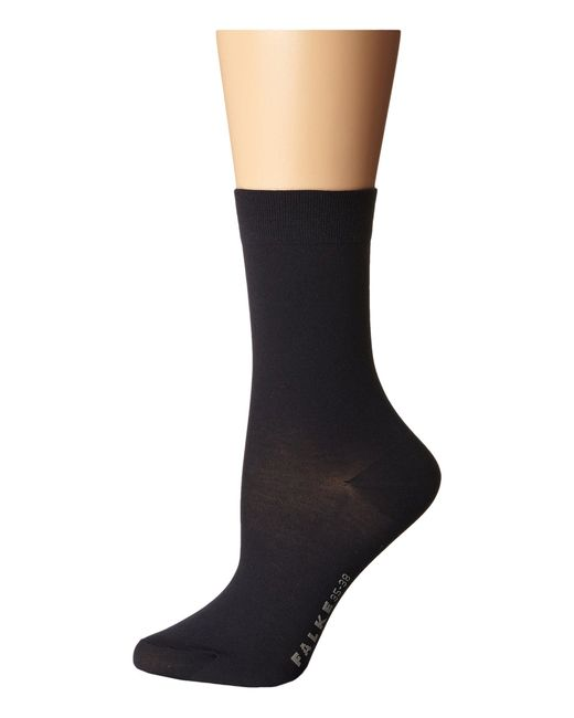 Falke   Blue Cotton Touch Socks   Lyst