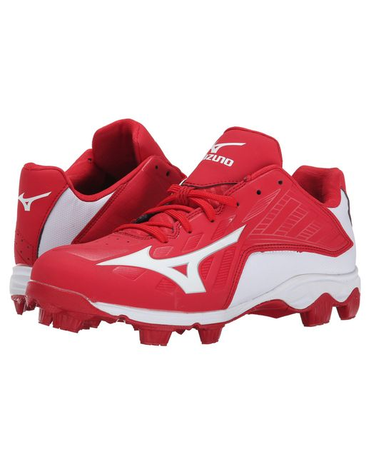Mizuno   Red 9-spike® Advanced Franchise 8 Low for Men   Lyst
