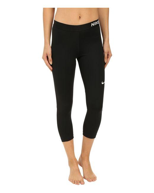 Nike   Black Dri-fittm Epic Run Crop   Lyst