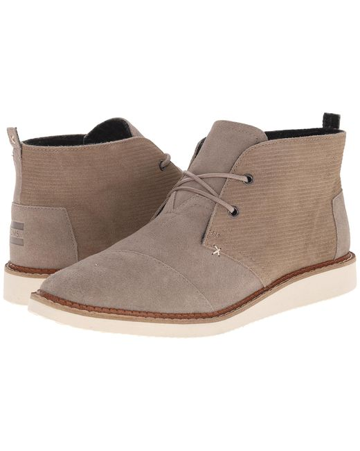 TOMS | Natural Mateo Chukka Boot for Men | Lyst