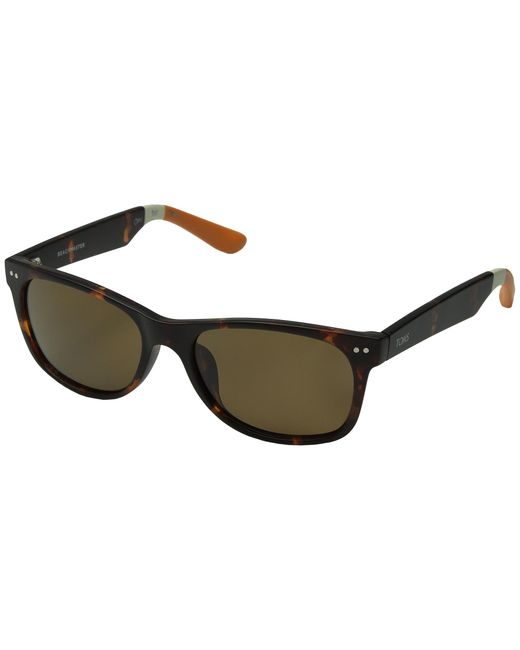 TOMS | Brown Beachmaster Polarized | Lyst