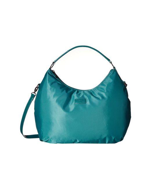 Lipault | Blue Hobo Bag (l) | Lyst