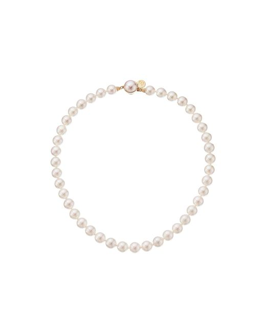 Majorica   White 10mm Pearl Strand Necklace   Lyst