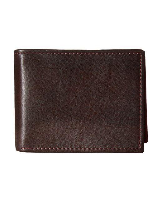 Johnston & Murphy | Brown Flip Billfold Wallet for Men | Lyst
