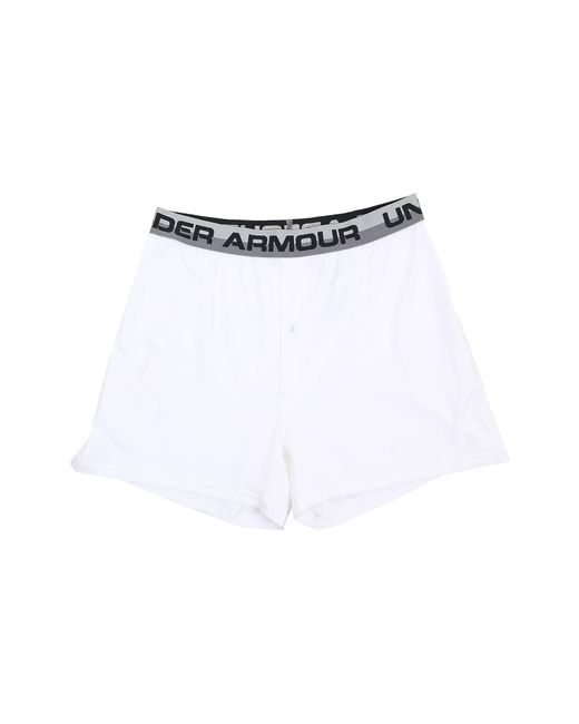 Under Armour | White Ua Original Series Boxer Shorts for Men | Lyst