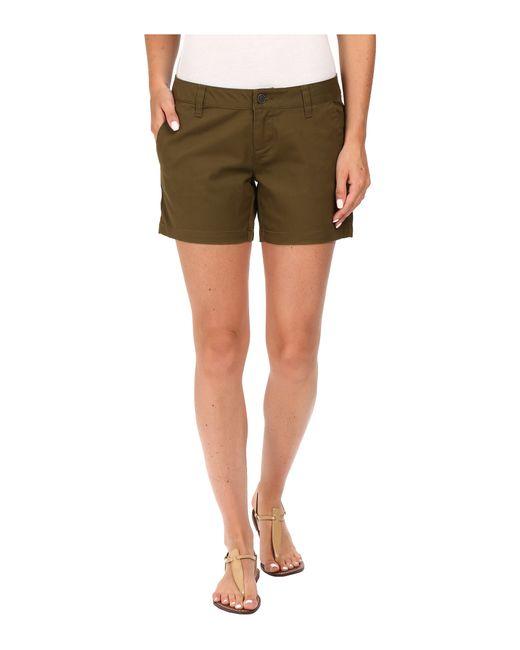 "Volcom | Green Frochickie 5"" Shorts | Lyst"