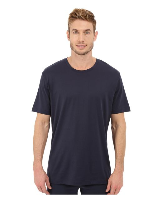 Hanro | Black Night & Day Tee for Men | Lyst