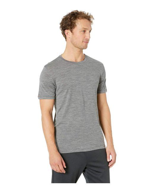 905f8e85 ... Icebreaker - Gray Tech Lite Short Sleeve Crewe (gritstone Heather 1)  Men's Clothing for