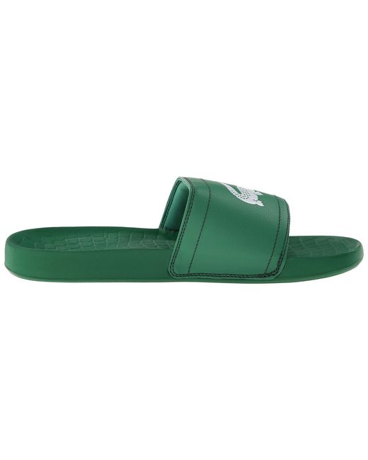 3c630b2ad7ee0e ... Lacoste - Fraisier Brd1 (green green) Men s Slide Shoes for Men ...