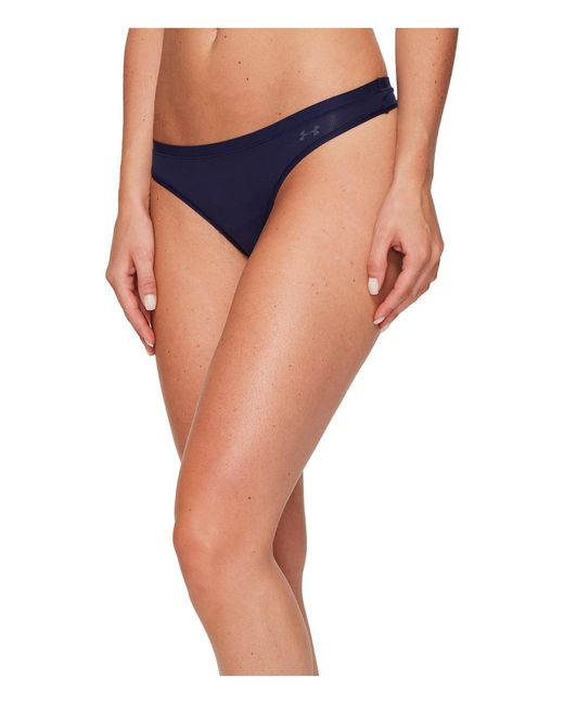 Under Armour   Blue Ua Pure Stretch Sheers Thong   Lyst