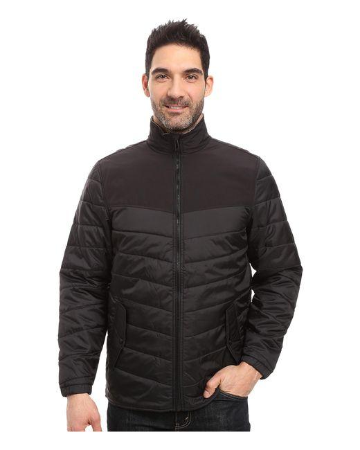 Woolrich   Black Wool Loft Insulated Jacket for Men   Lyst