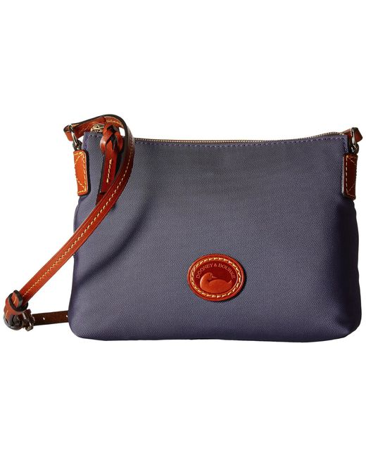 Dooney & Bourke | Blue Nylon Crossbody Pouchette | Lyst
