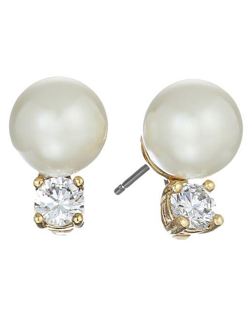 Kate Spade | Pink Pearls Of Wisdom Studs Earrings | Lyst