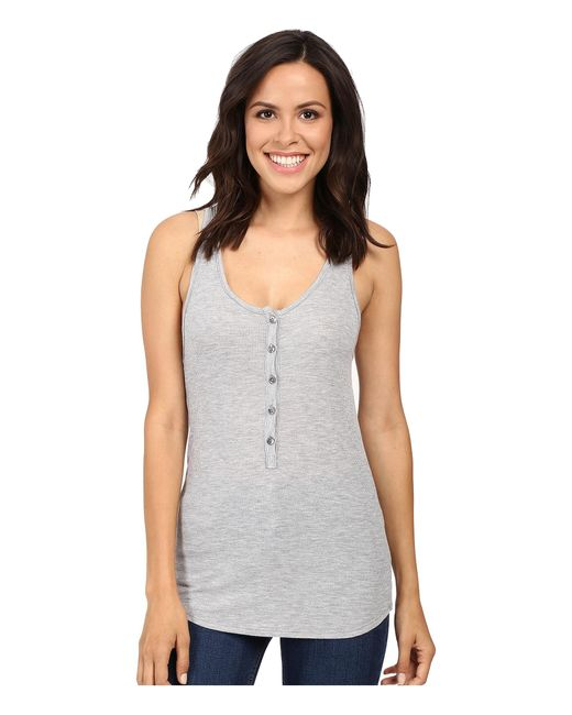 Lamade | Gray Lily Tank Top | Lyst