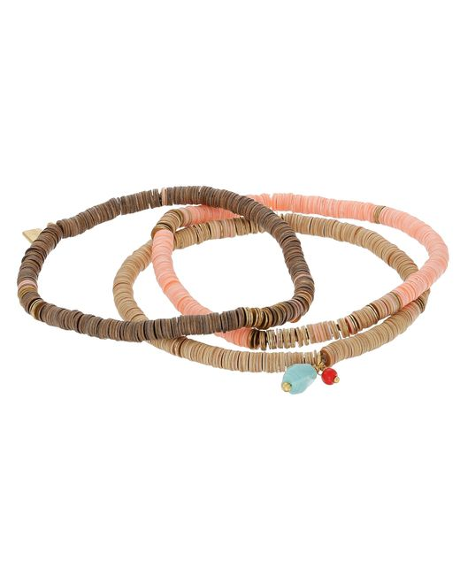Chan Luu | Pink 3-pack Sequin Stretch Bracelet | Lyst