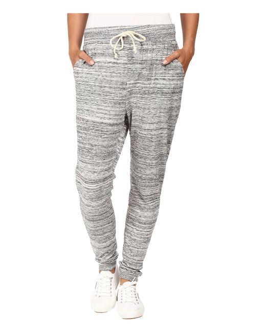 Alternative Apparel | Gray Eco Jersey Space Dye Jogger Pants | Lyst