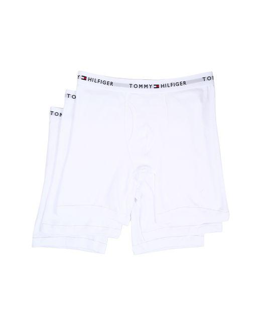 Tommy Hilfiger | White Underwear, 4 Pack Athletic Boxer Brief for Men | Lyst