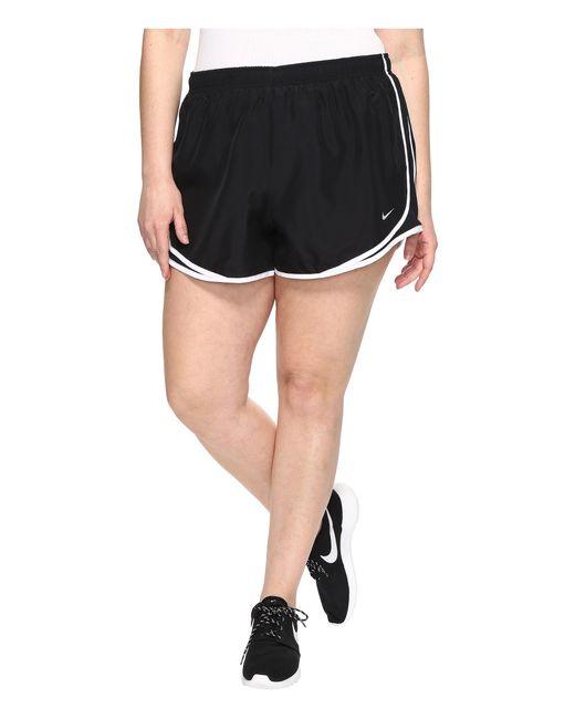 "Nike | Black Dry Tempo 3"" Running Short (size 1x-3x) | Lyst"