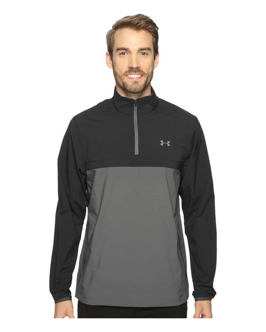 Under Armour | Gray Ua Storm Windstrike 1/2 Zip for Men | Lyst