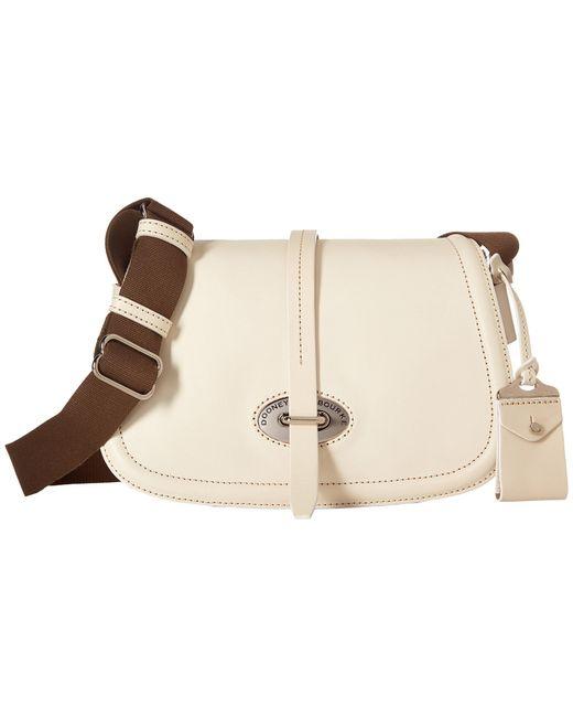 Dooney & Bourke | Natural Florentine Small Saddle Bag | Lyst