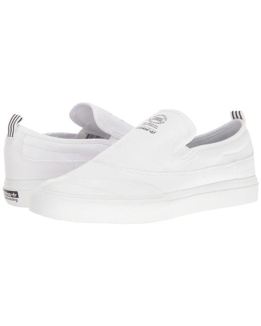 Adidas Originals | White Matchcourt Slip Adv for Men | Lyst