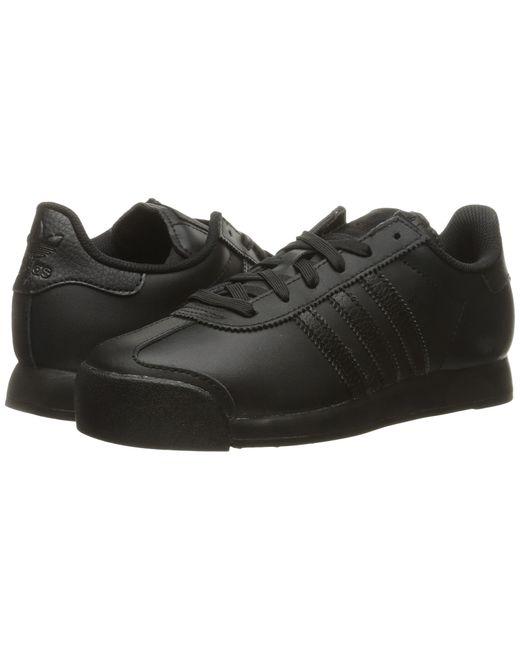 Adidas Originals | Black Samoa Leather for Men | Lyst