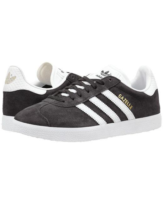 Adidas Originals | Black Gazelle | Lyst