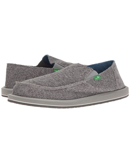 Sanuk | Gray Vagabond Mesh for Men | Lyst