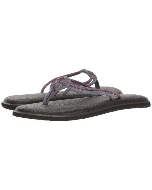 Sanuk | Gray Yoga Knotty | Lyst