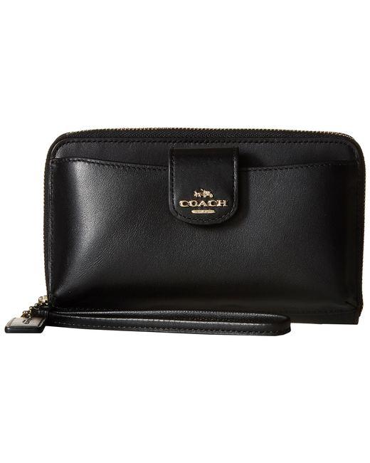 COACH | Black Box Program Universal Phone Wallet | Lyst